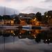 Reflective mood. Constitution Dock, Tasmania © alch3my