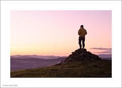 cairn-s (John Leech) Tags: sunset colour night landscape dusk over end sands fell grange