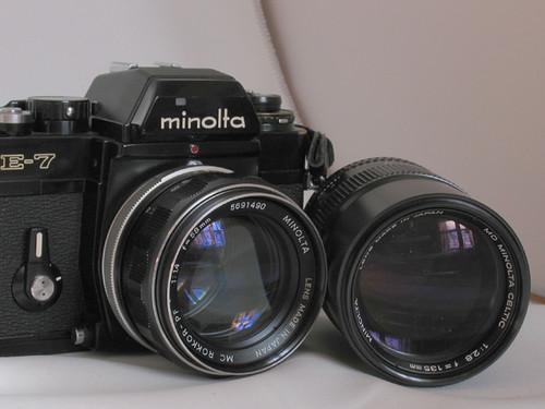 Minolta XE-7 Eyes
