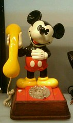 Mickey mouse phone!