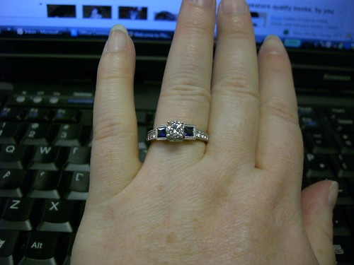 Engagement Ring at Work!