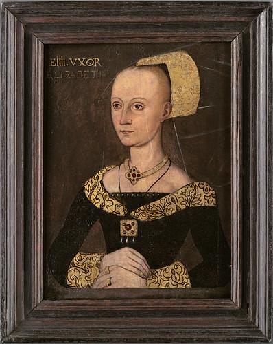 Queen Elizabeth Wydeville, Wife of Edward IV, mother of Elizabeth of