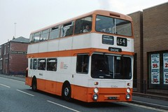 Former EX7 (georgeupstairs) Tags: bus doubledecker daimler rochdale fleetline ex7 gmpte selnec 6245 northerncounties greatermanchesterpte crg6 tnb747k