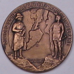 Bayonne Bridge medal
