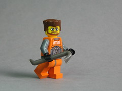 Gordon Freeman with BrickForge Crowbar