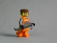 Gordon Freeman with BrickForge Crowbar