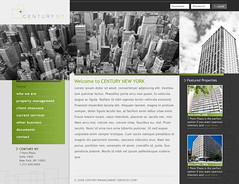 Century NY - version 1 (Cristian Bosch) Tags: screenshots webdesign template mockups webtemplate mockdesign webcomps