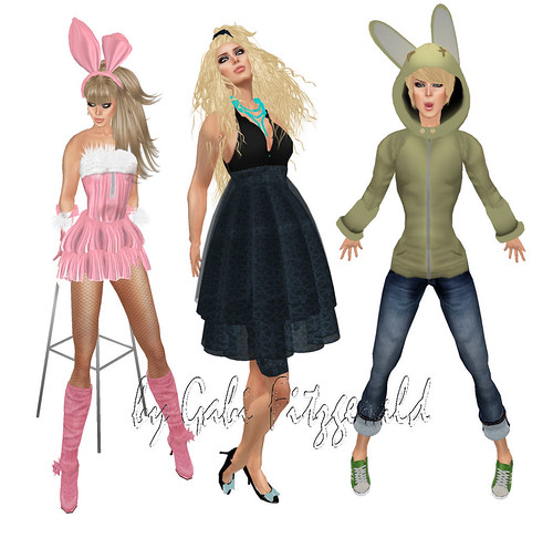 the bunny hop hunt - bare rose - cest la vie - lcky