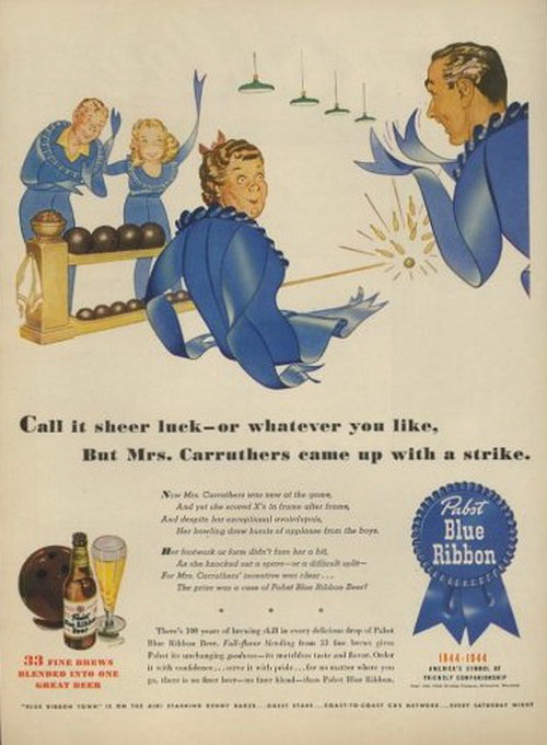 Blue Ribbon Bowler