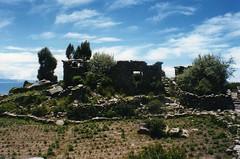 peru archaeology laketiticaca titicaca island ruins ruin taquile isla isladetaquile