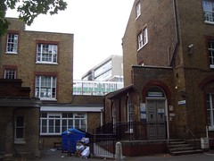 Southwark Council offices and Lakanal House
