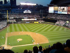 Mariners vs Rangers, Safeco Field, Seattle