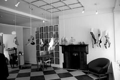 Hanging Shoes (ksandusky) Tags: bw london store shoes botique d80 marlyeborn