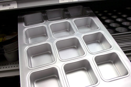 Square Muffin Pans