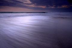 Blue hour @ Batu Belig Beach (Helminadia Ranford(New York)) Tags: sea sky bali motion beach nature colors beautiful indonesia wave bluehour batu belig vosplusbellesphotos