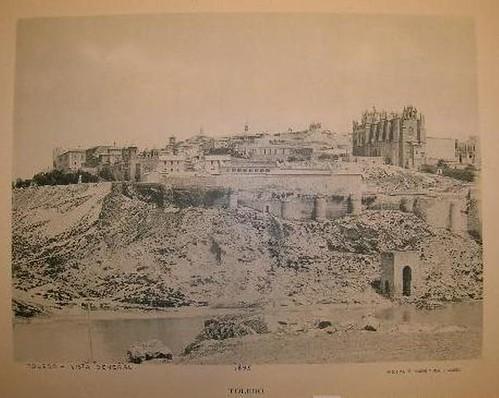Baño de la Cava hacia 1895. Foto Hauser.