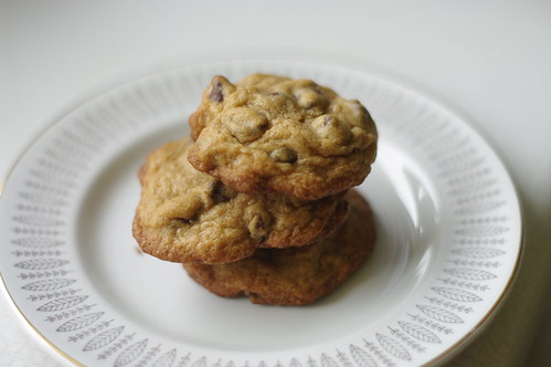 Chocolate Chip Cookies with Apricots and Walnuts