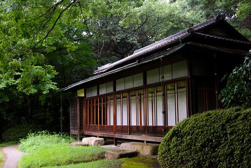 Meiji Jingu, Tokyo: Gyoen Tea House