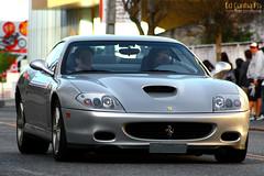 Ferrari 575M (Ed Cunha Ph) Tags: auto car brasil silver italian european automotive ferrari m exotic curitiba f coche carro maranello prata 575m 575 ferrari575 f575 avbatel