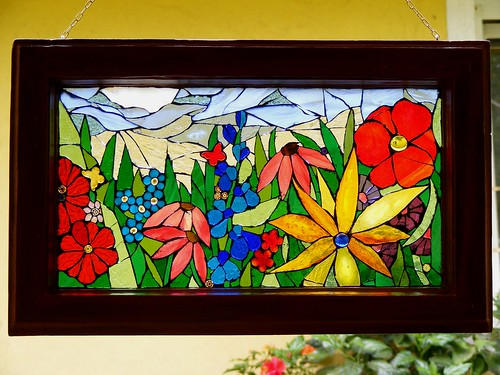 Summer - Mosaic window