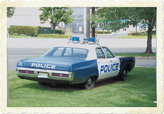 1971 Plymouth Fury Police Car (Keyport-Kid) Tags: classic car vintage newjersey nj plymouth police middletown fury fiveo coptirescopbrakes