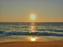 Sunset on vieux boucau beach (Madebycedric) Tags: ocean sunset reflection vieux cdric boucau interestingpictures vosplusbellesphotos madebycedric cdricpaul madebycdric