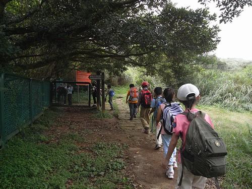 你拍攝的 13抵達磺嘴山保護區入口。