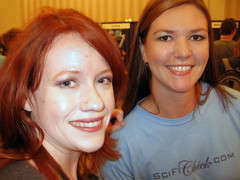 Richelle Mead and I