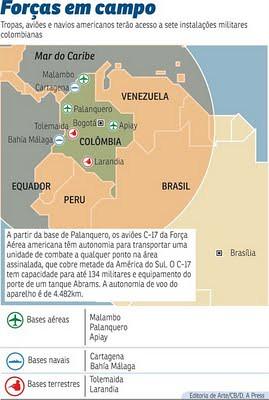 Bases militares norte-americanas na Colômbia