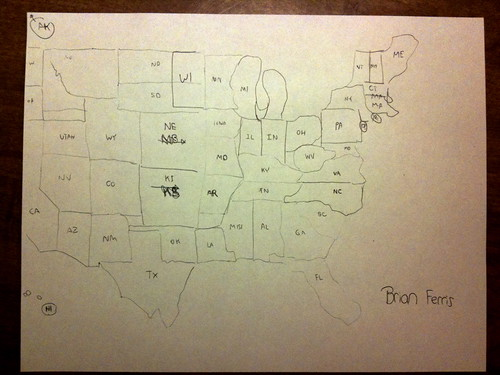 Drawing the US: Fail