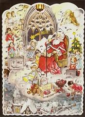 ADVENT CALENDAR (Jany Schindler) Tags: christmas vintage advent calendar