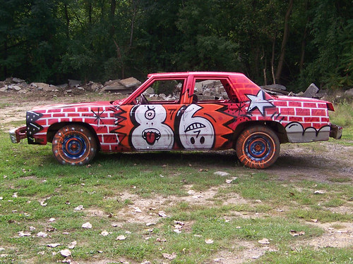 Demolition Derby Car