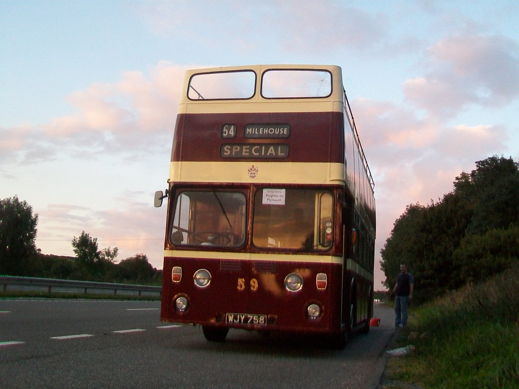 ex Plymouth Citybus 458 WJY758 (by didbygraham)