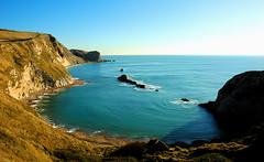 Manowar Bay, near Durdle Door (trekker308) Tags: landscape coast dorset d200 nikon1870 britishseascapes