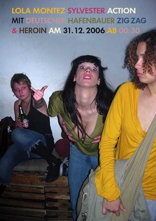 Lola Montez Flyer Silvester 2006