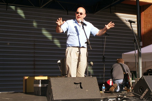 George Leventhal at 2009 Block Party
