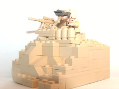 hill site sniping (kenneth nielsen a.k.a Qenhyt) Tags: site mod paint lego military hill prototype ba sniping brickarms