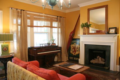 Living room (Libby's World) Tags: house northcarolina craftsman bungalow goldsboro houseforsale sjafb seymourjohnsonairforcebase