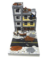 Apartment Front (-Pendragon-) Tags: post lego apocalypse apocalego