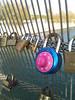 """Locked memory"" (Jean-christophe 94) Tags: pink paris rose cadenas paddock passerelle jc94"