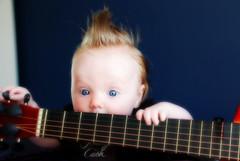 (cowdogs3) Tags: music baby kids texas guitar naturallight johnnycash fohawk