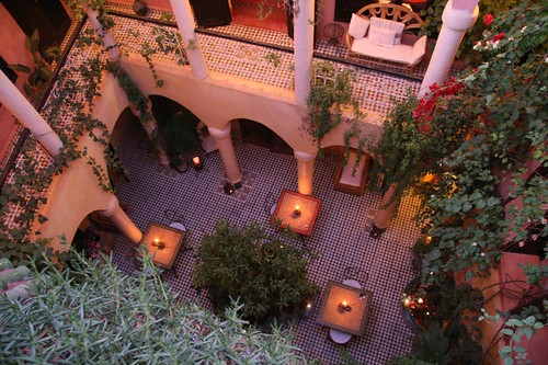 patio riad merstane marrakech morocco