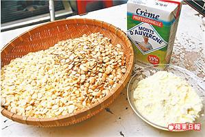 法國進口鮮奶油、安佳奶粉