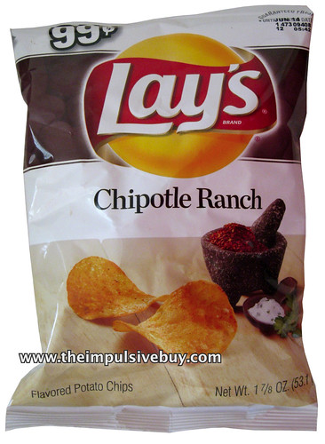 Lay's Chipotle Ranch Potato Chips