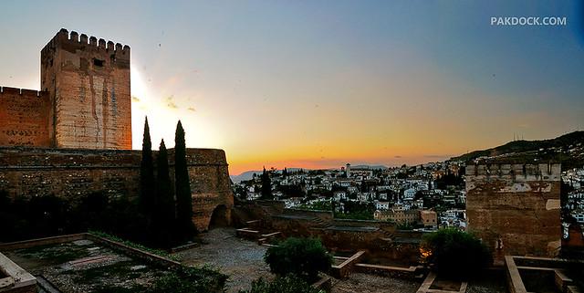 Granada, back home.