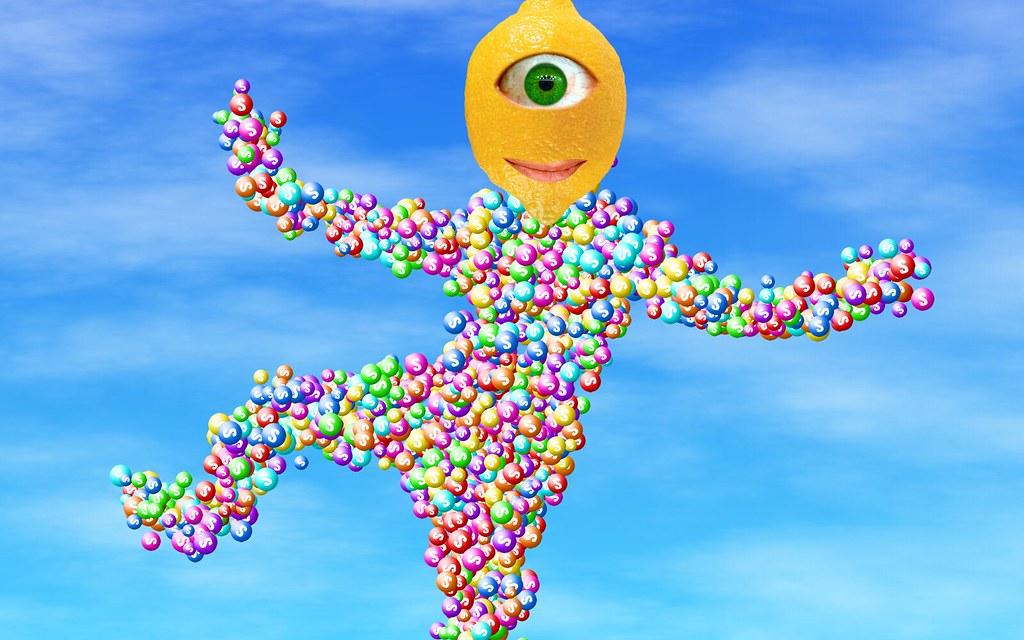 Skittles interactive installation