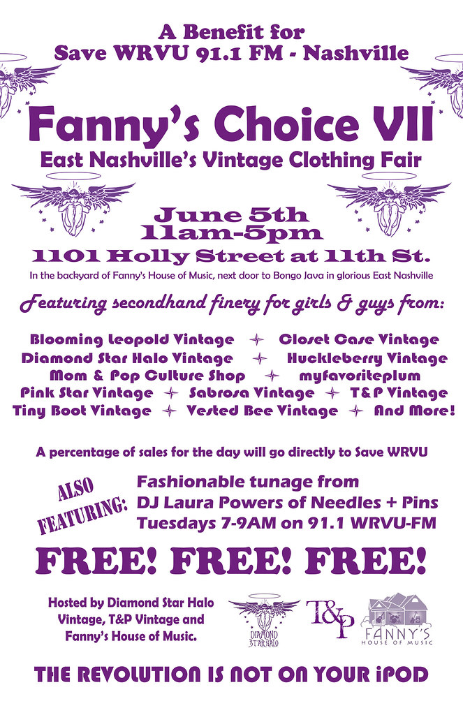fanny's vintage sale in east nashville