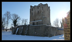 Ruine Burg Altendorf in Essen (Dirk65) Tags: winter germany deutschland lumix frozen europa frost panasonic kalt eis wintertag ruhr 2009 pott nordrheinwestfalen januar revier dmx ruhrpott gefroren eiskalt frosttag rurtal winter2009 fz28 dmcfz28 januar2009