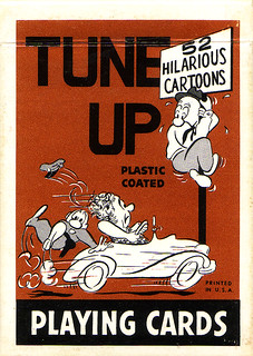 Tune-Up Cartoon Playing Cards