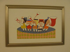 """It's a Small World"" concept art in the maternity ward... (beastandbean) Tags: hospital paintings drawings disney medical babystuff itsasmallworld conceptart nurseries maryblair babywise animationart waltdisneycompany maternitywards hospitaltours disneysitsasmallworld stjosephshospitalburbank"